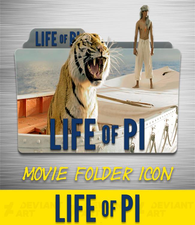 Life Of Pi 2012 Folder Icon By Ahmternbrs60 On Deviantart