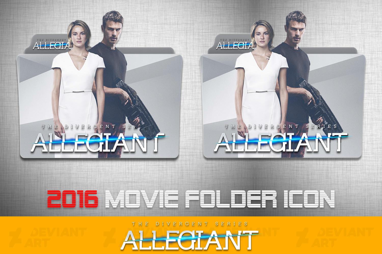 The Divergent Series Allegiant 2016 Folder Icon By Ahmternbrs60 On Deviantart