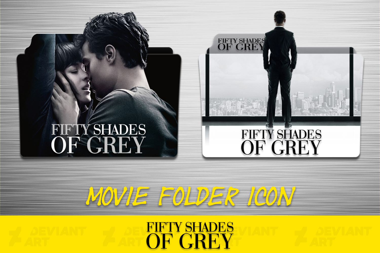 fifty shades of grey 2015 folder icon by ahmternbrs60 on deviantart. Black Bedroom Furniture Sets. Home Design Ideas