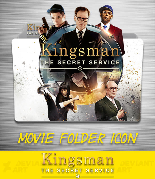 Kingsman The Secret Service 2015 Folder Icon By Ahmternbrs60 On Deviantart
