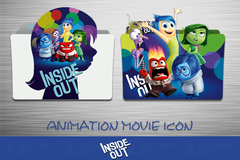 Inside Out 2015 Folder Icon Pack By Ahmternbrs60 On Deviantart