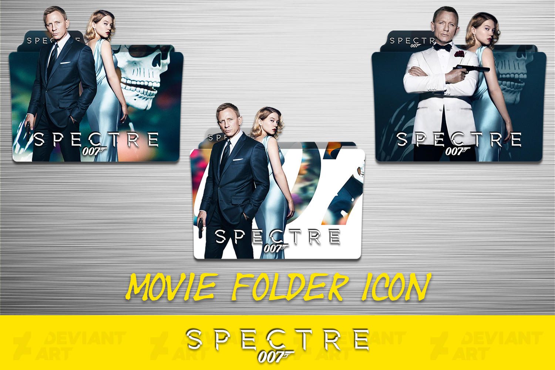 Spectre 2015 Folder Icon Pack By Ahmternbrs60 On Deviantart