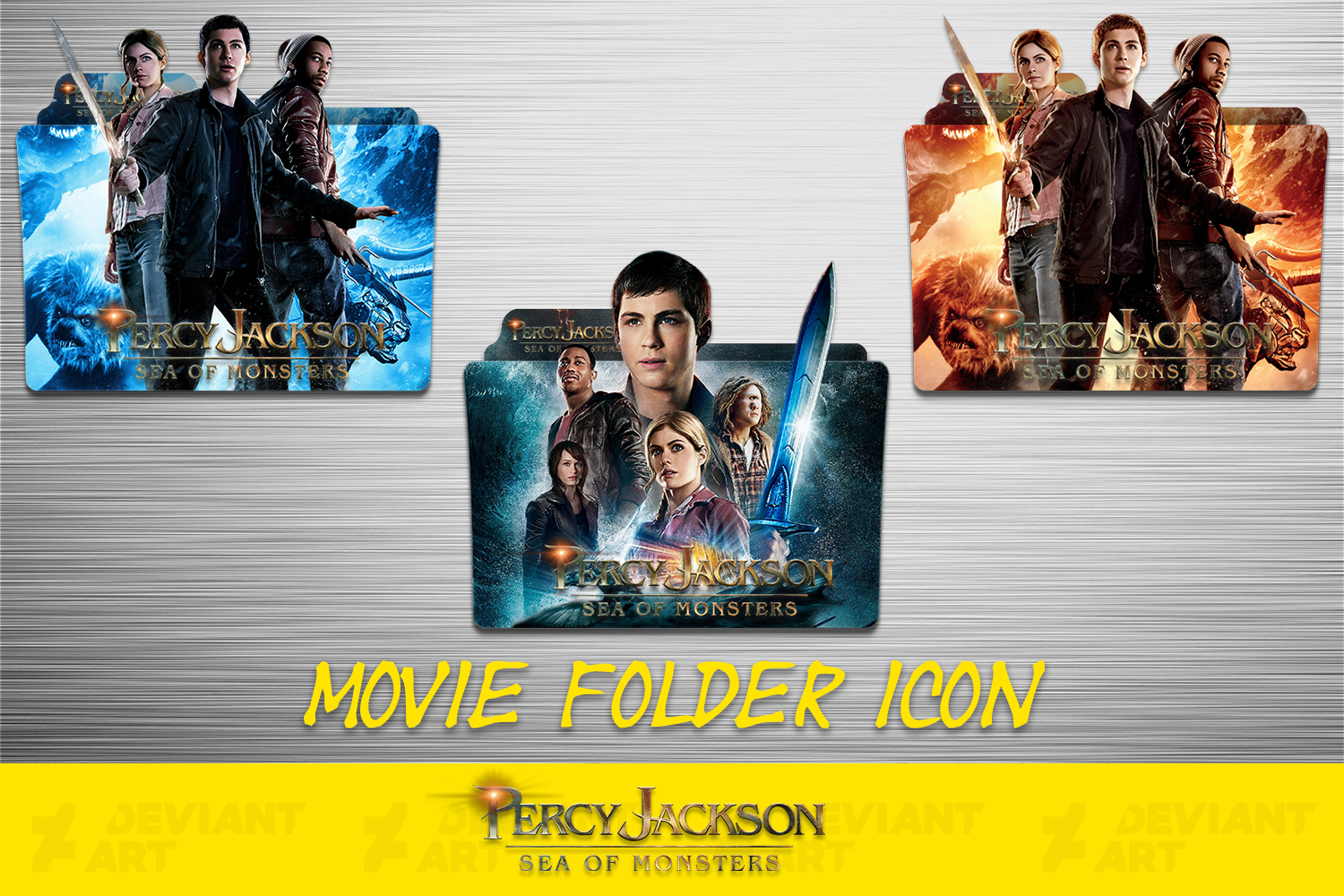 Percy Jackson Sea Of Monsters 2013 Icon Pack By Ahmternbrs60 On Deviantart