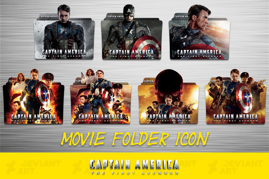 Marvel Cinematic Universe Phase 1 Folder Icon Pack By – Dibujos Para