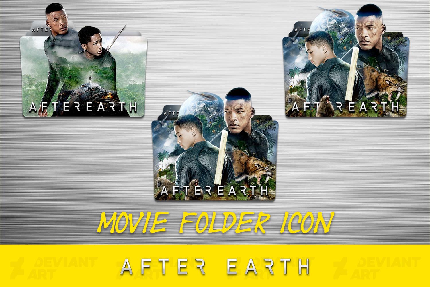 After Earth 2013 Folder Icon Pack By Ahmternbrs60 On Deviantart