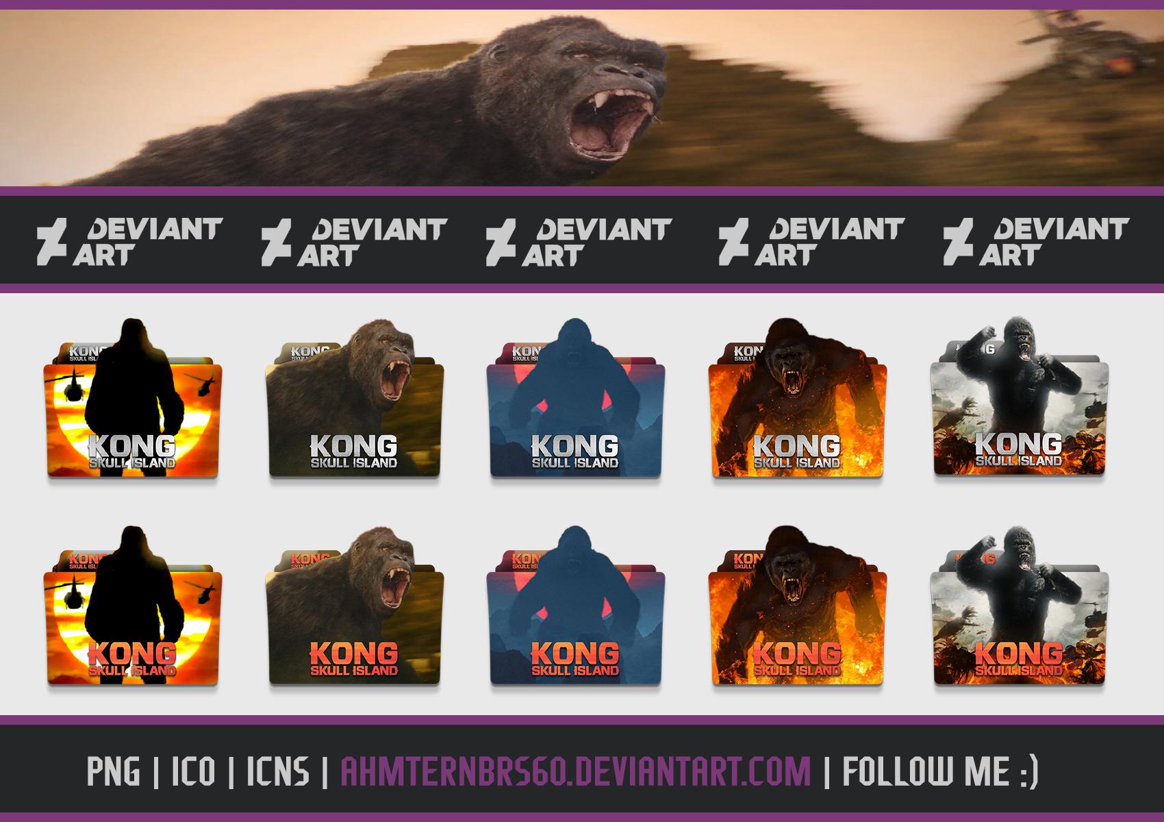 Kong Skull Island 2017 Folder Icon Pack By Ahmternbrs60 On Deviantart