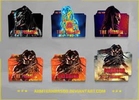 The Predator (2018) Folder Icon Pack by AhmtErnBrs60