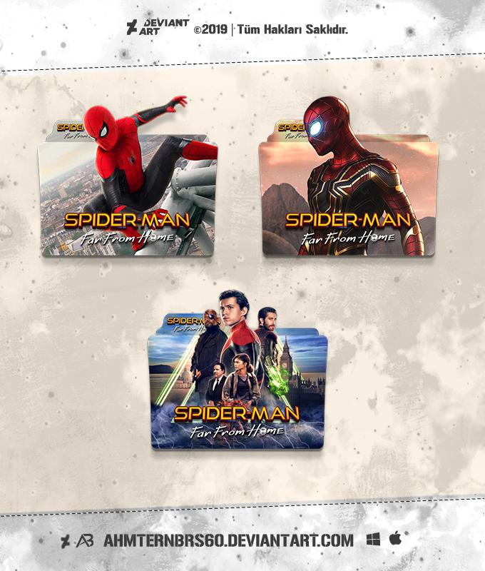 Spider Man Far From Home 2019 Folder Icon Pack By Ahmternbrs60 On Deviantart