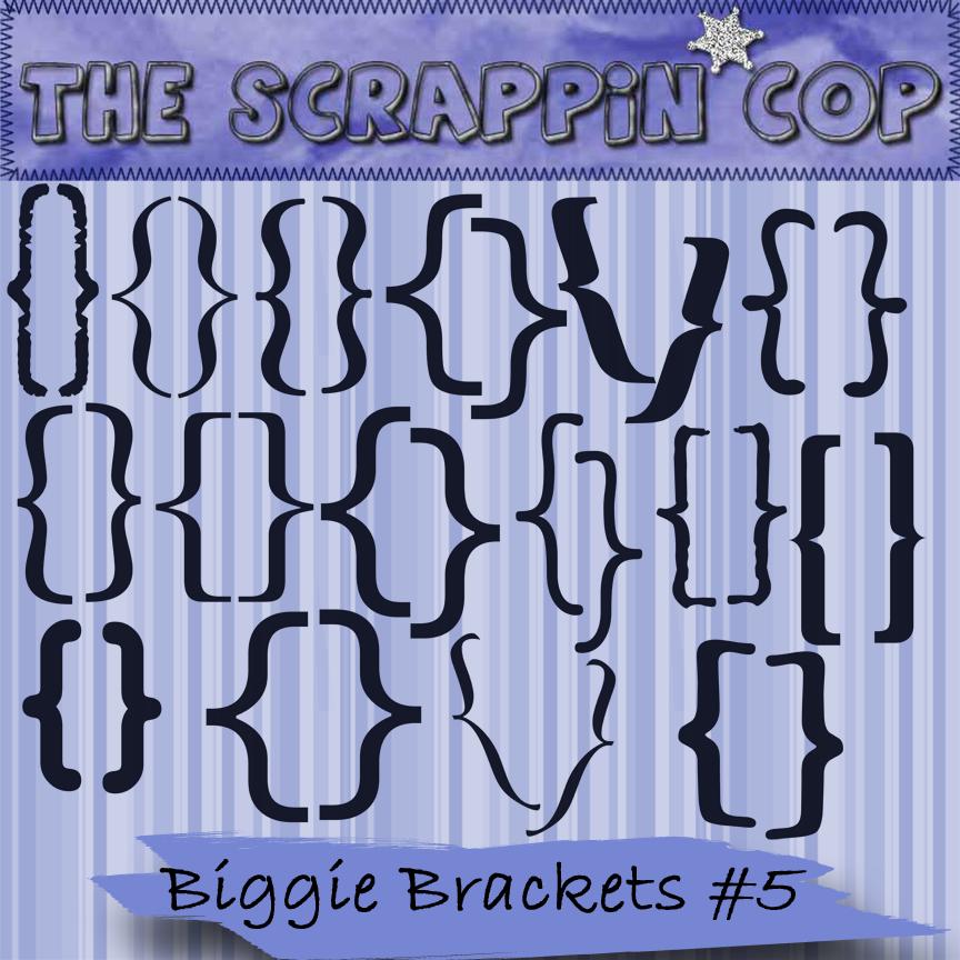 Scrappin Cop Biggie Brackets 5 by debh945