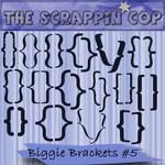 Scrappin Cop Biggie Brackets 5
