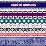 ScrappinCop Borders1 miniset