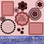 ScrappinCop Dotty Journals by debh945