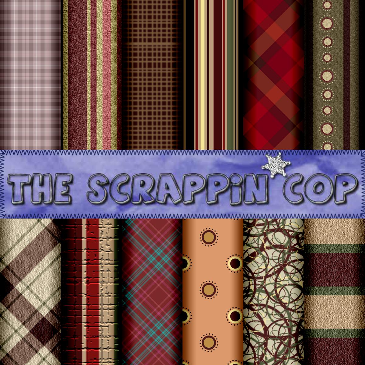 ScrappinCop Pattern Set1 by debh945