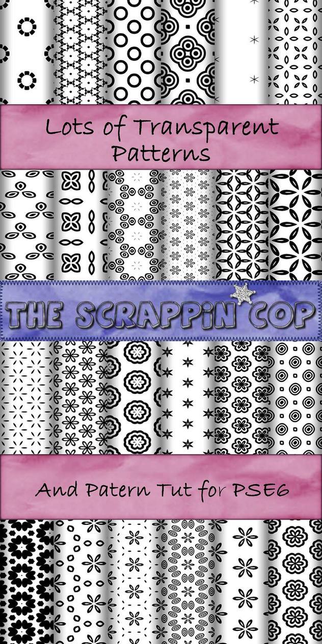 ScrappinCop Pattern set 3 by debh945