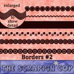 ScrappinCop Border Brushes 2