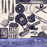 ScrappinCop Baseball Brushes