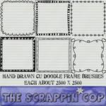 Doodle Frame Brushes