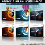 Firefox 3 Splash Screen Pack