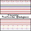 Basic Pixel Border Horizontal by thonihuang