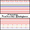 Basic Pixel Border Horizontal by babyrose10