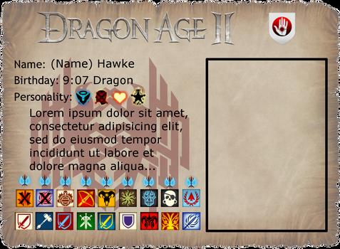 Dragon Age II Character Sheet (V.2)