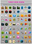 ToonTone BlackBerry Icons