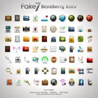 Fake7 BlackBerry Icons by CrazEriC