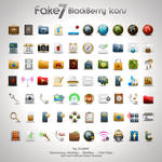 Fake7 BlackBerry Icons