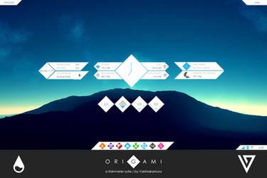 Origami for Rainmeter [1.0] by VakiNakamura