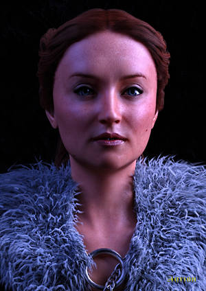 Lady of Winterfell Free Dial up Morphs for G8F