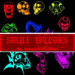 Skull Brushes For Photoshop
