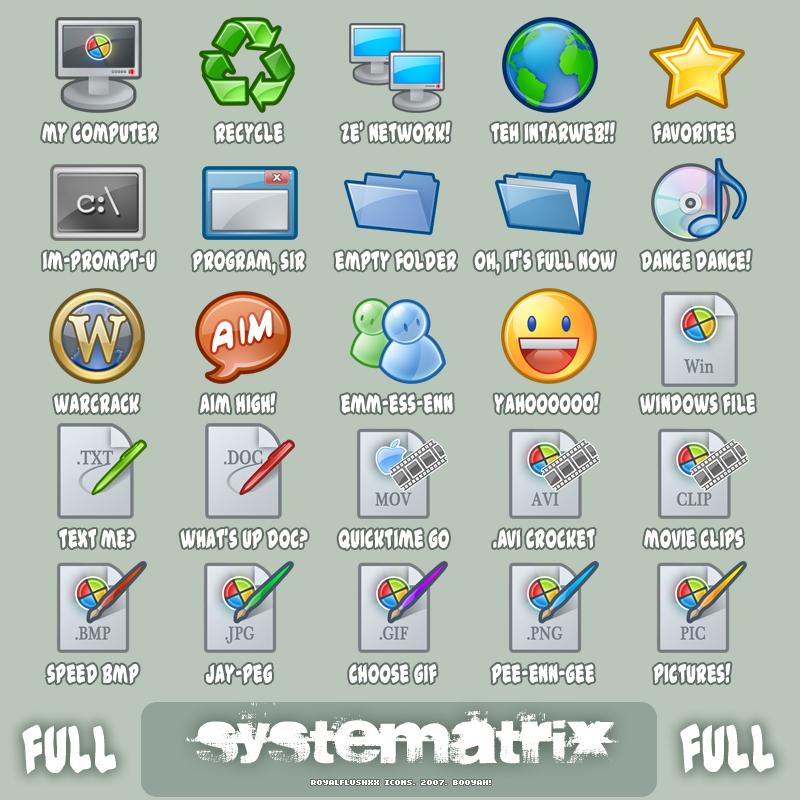 Icons: Systematrix Full