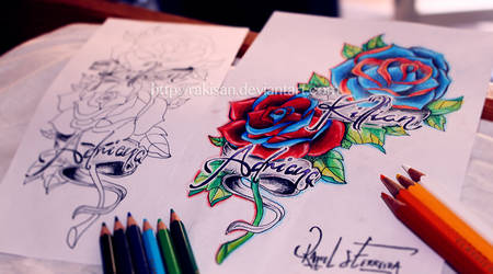 Roses Tattoo Commission