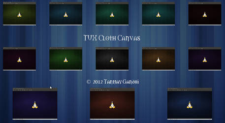 Tux Canvas Cloth by 51tanmay