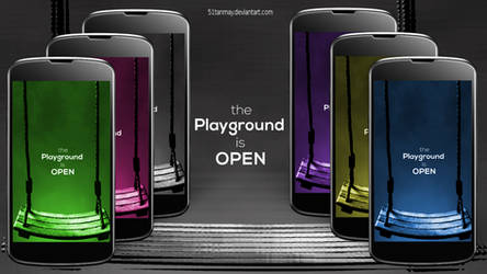The Playground is OPEN by 51tanmay