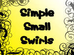 Simple Small Swirl Brushes