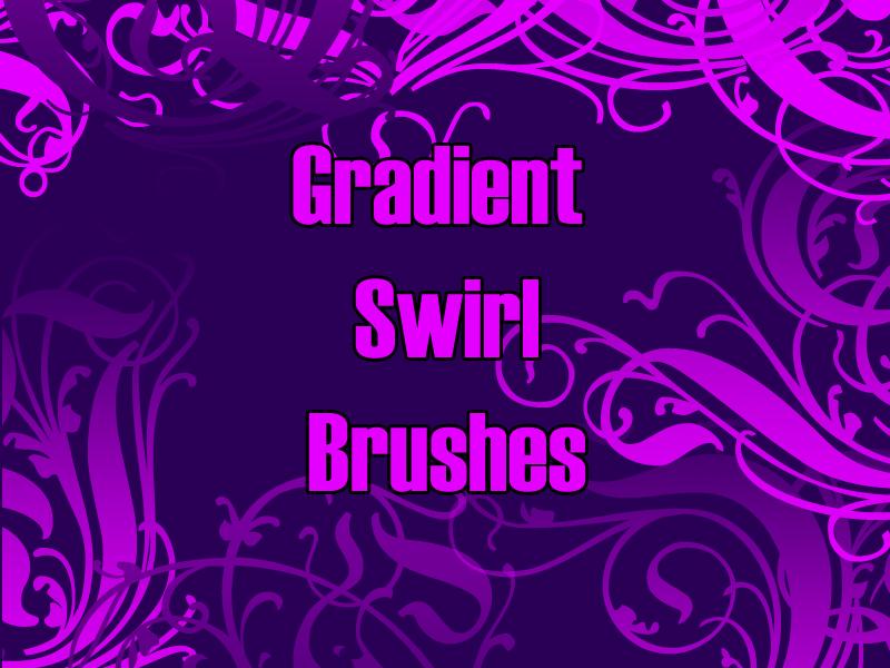 Gradient Swirls by Lou012