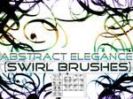 Abstract Elegance Swirls