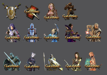 Guild Wars Dock Icon Pack by PogS