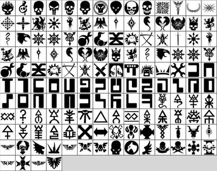 Warhammer Shapes for Photoshop