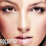 gold psd