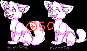 P2U - Canine base! 50 points only!!