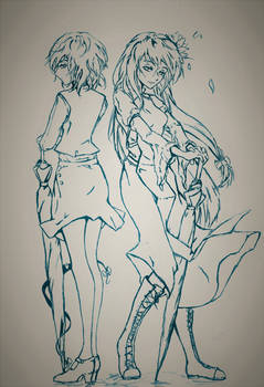 Don't be so shy (Ink)