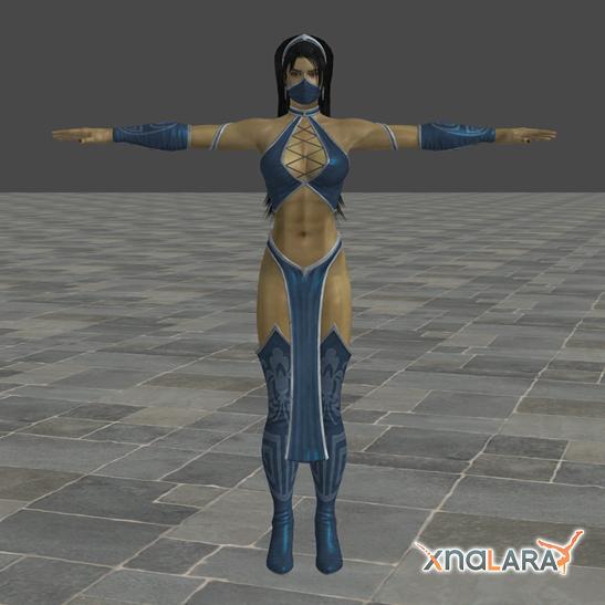Mortal Kombat 9: Kitana by blufan