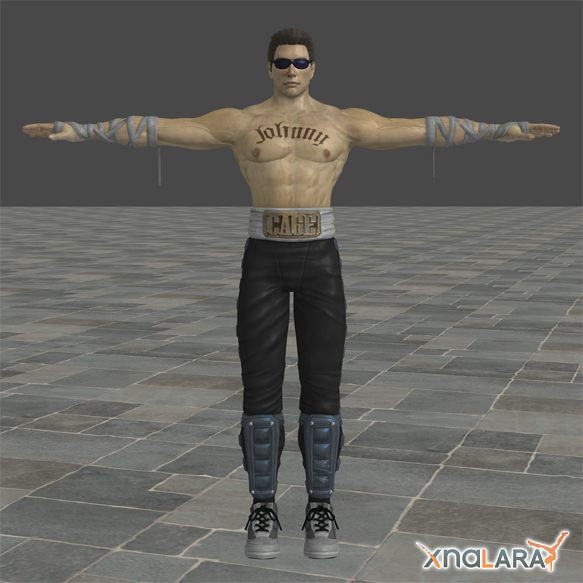 Mortal Kombat: Johnny Cage by blufan