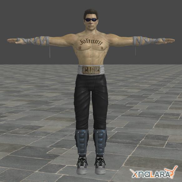 Mortal Kombat: Johnny Cage by blufan