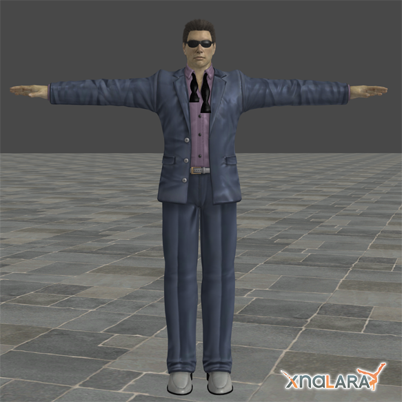 Johnny Cage Alternate Outfit by blufan