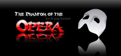 The Phantom of the Opera icon by jun11