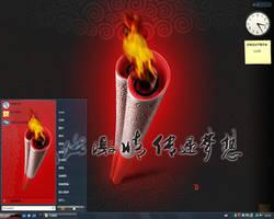 Dzart Olympic Torch Vista by DZart