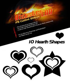 10 Hearth Shapes